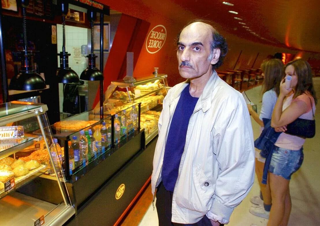Мехрам Нассери в аэропорту