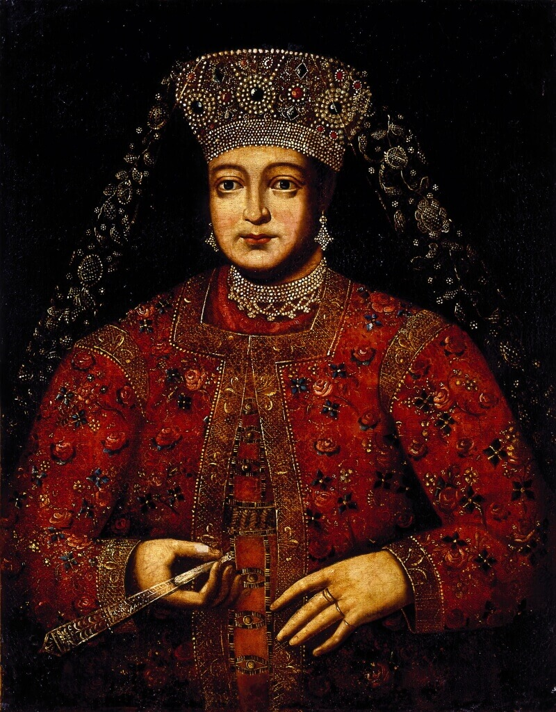 Неизвестный художник XVIII в. «Портрет царицы Марфы Матвеевны»
