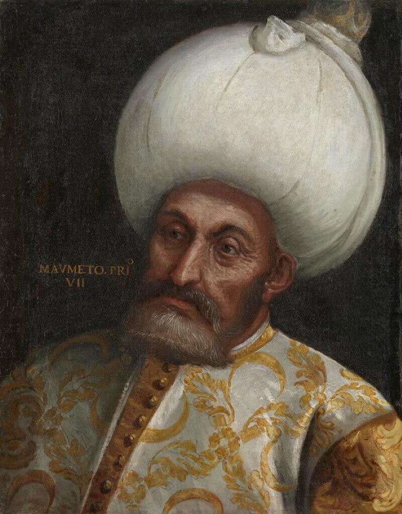 Паоло Вероньезе «Султан Мехмед I»