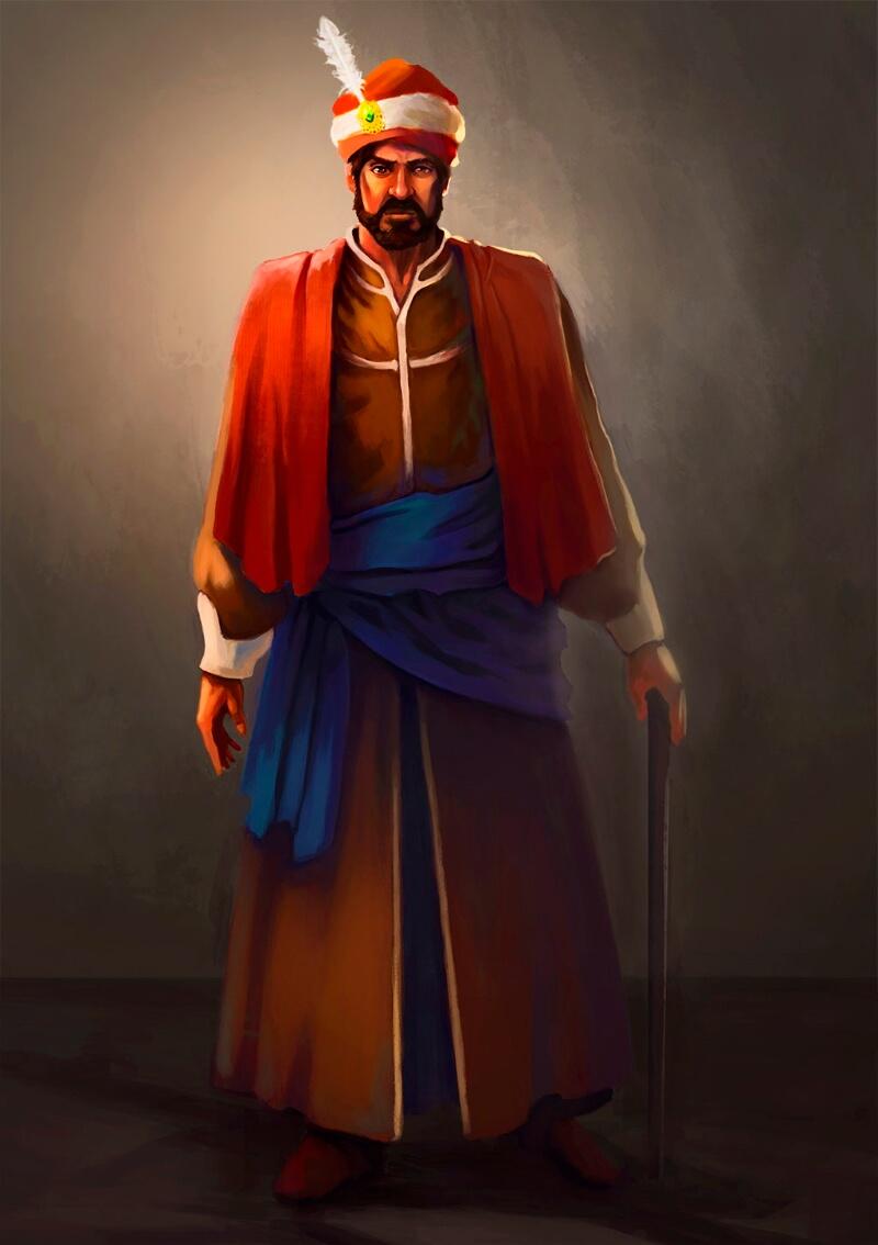 Паша (не является официальным портретом) / © Gokhan SEN / gokhansen.artstation.com