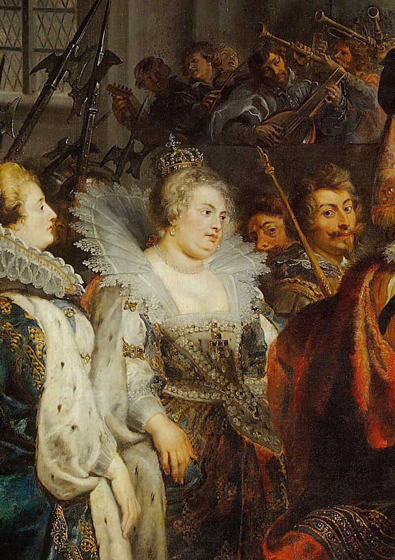 Питер Пауль Рубенс «Королева Маргарита Валуа, первая жена Генриха IV»