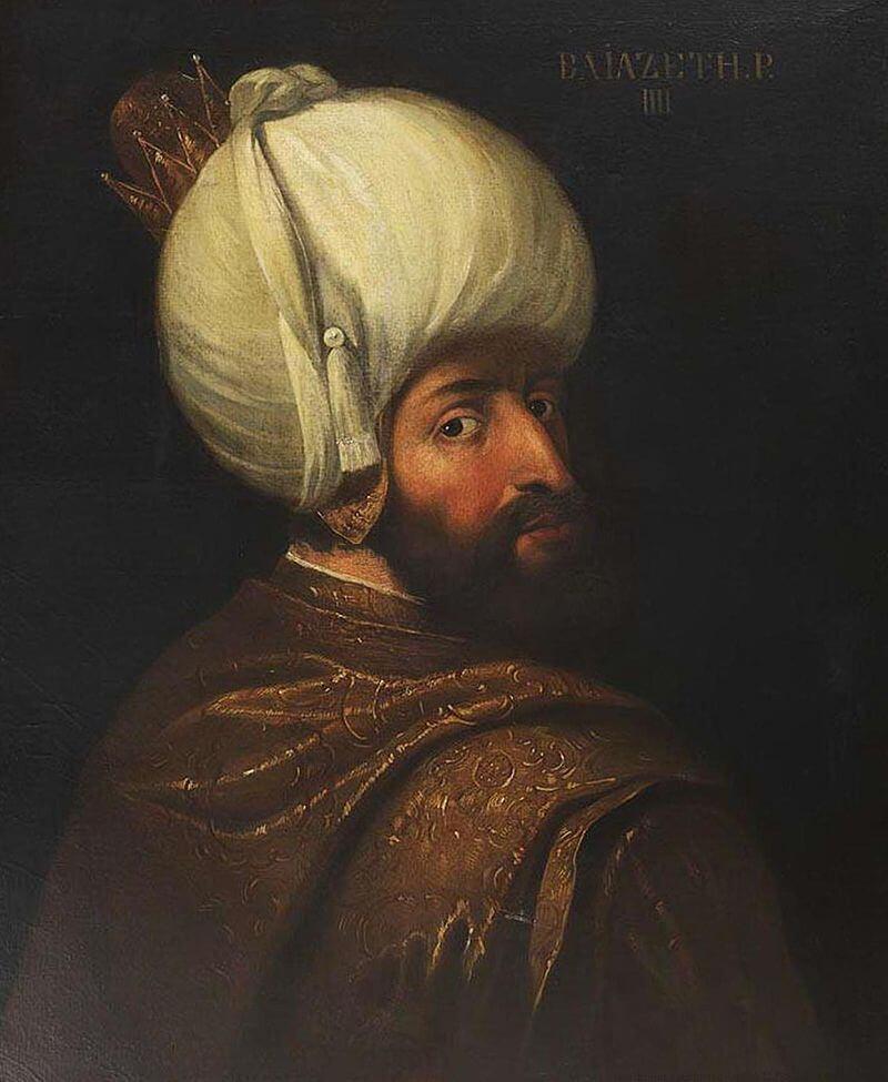 Портрет Баязида I