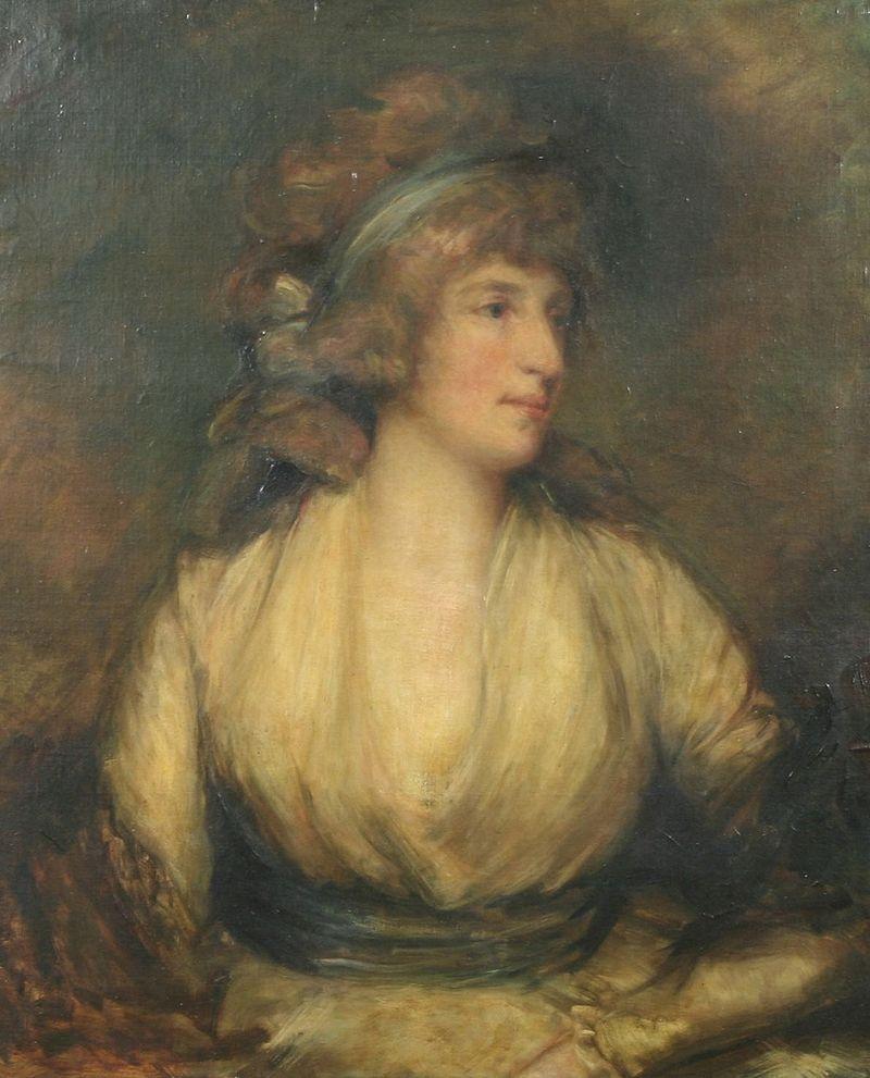 Портрет госпожи Марии Фитцгерберт, жены Георга IV