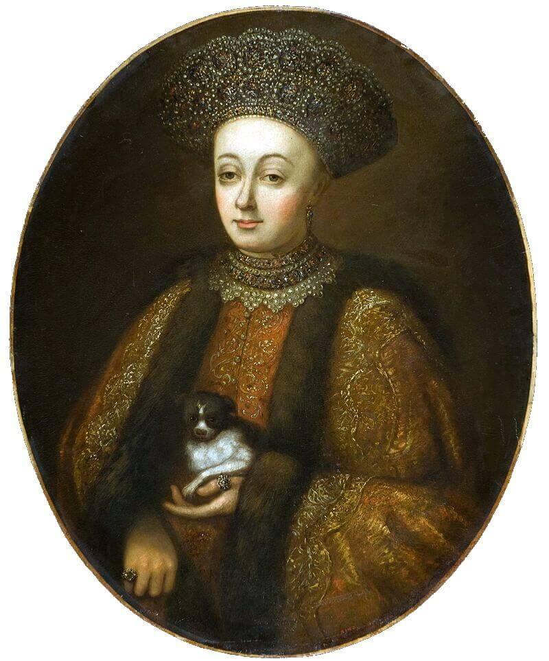 Портрет царицы Марфы Матвеевны