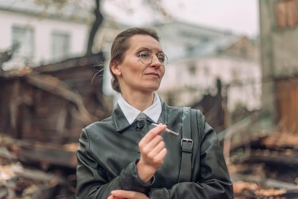 Розалия Землячка. Кадр из фильма «Солнечный удар»