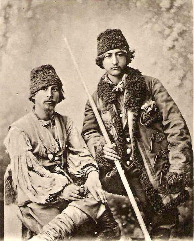 Цаганские мужчины, 1890 год