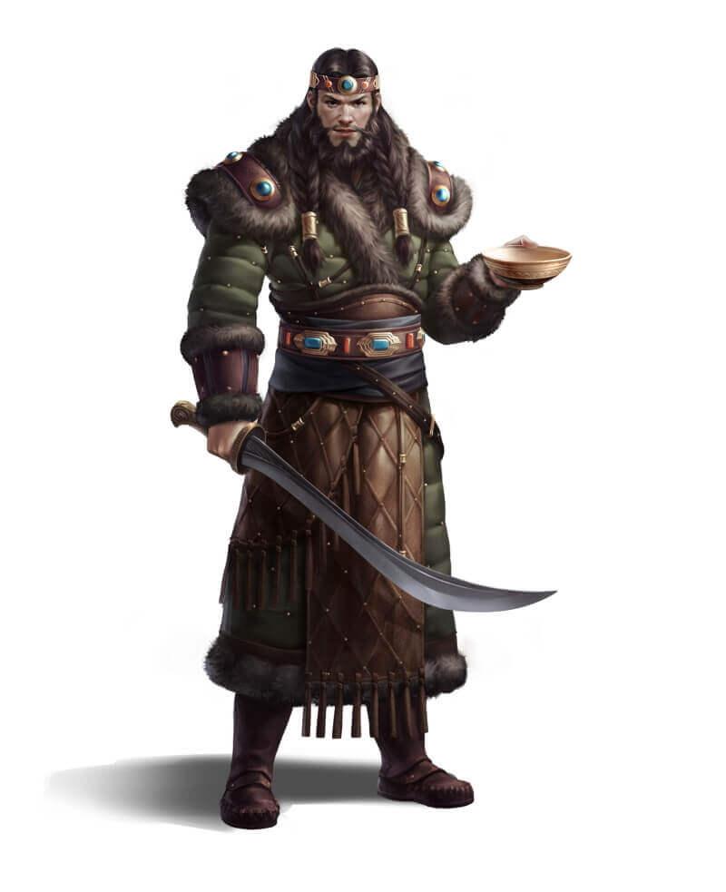 Воин хунну / zhongping Zhang / zzp8945096.artstation.com