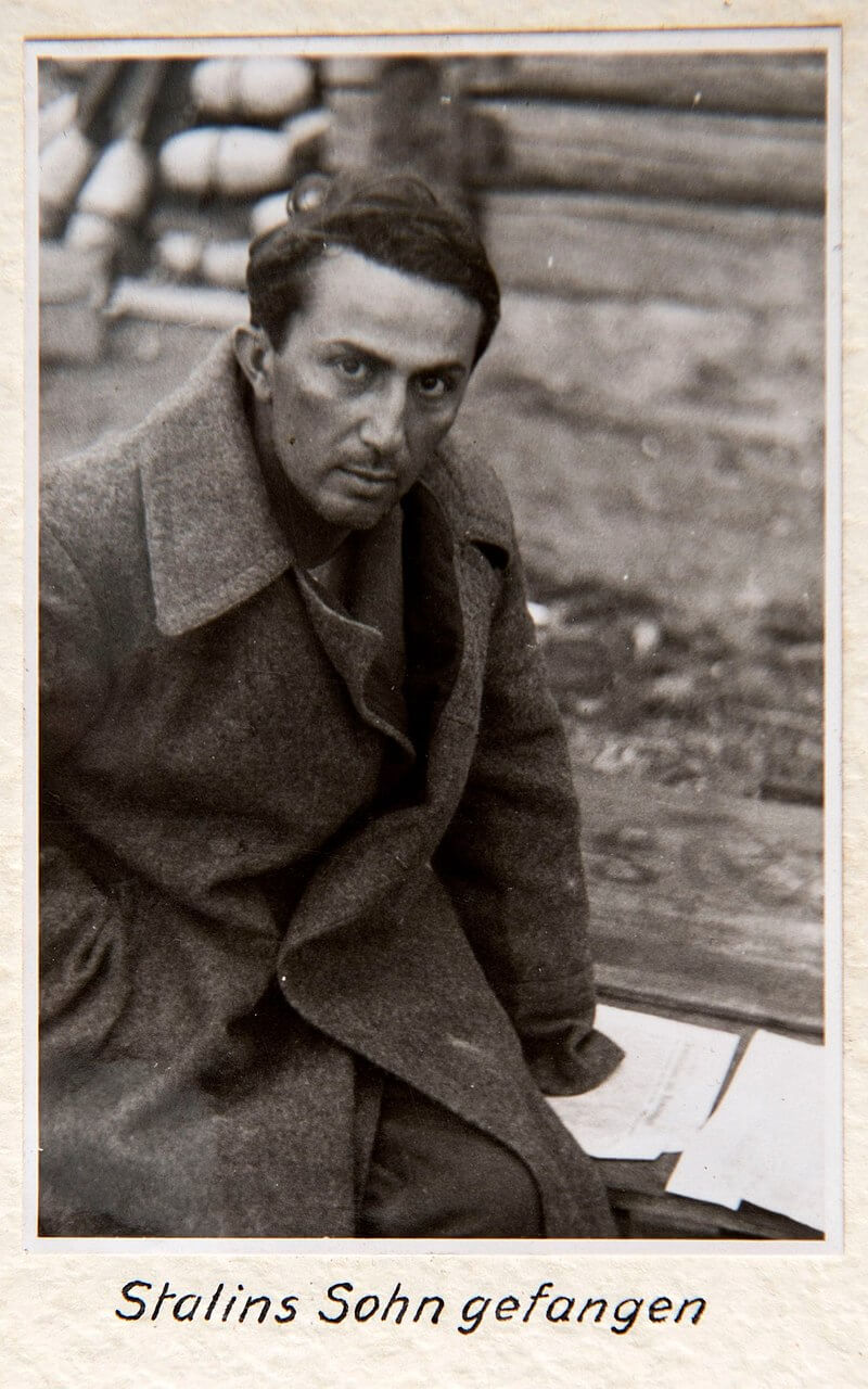 Яков Иосифович Джугашвили в плену у немцев