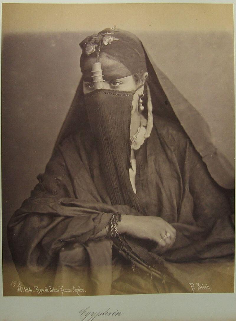 Женщина из Египта, 1880 год