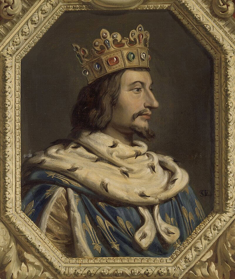 Жилло Сент-Эвр «Король Франции Карл V Мудрый»