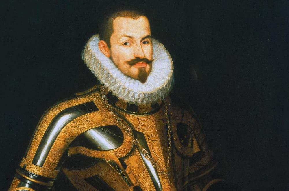 Хуан Карреньо де Миранда «Портрет герцога Лермы» (фрагмент)