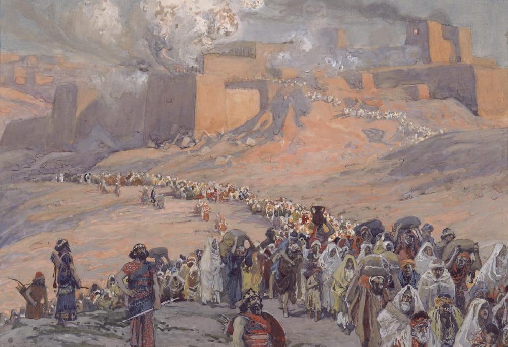 Джеймс Тиссо «Бегство пленных»