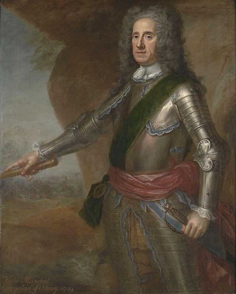 Джордж Дуглас-Гамильтон, 1-й граф Оркни, муж Элизабет