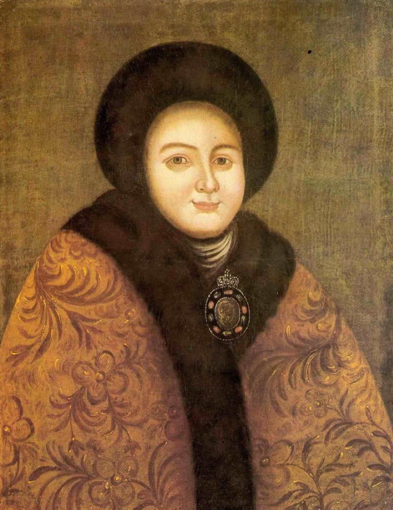 Портрет царицы Евдокии Фёдоровны
