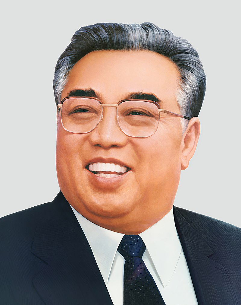 Посмертный портрет Ким Ир Сена / ru.wikipedia.org