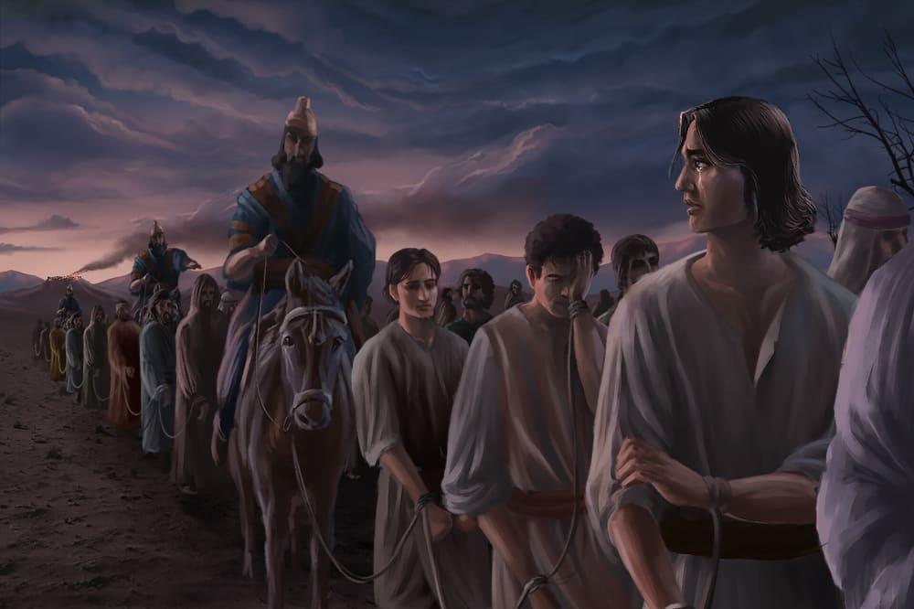 Пророк Даниил и его друзья / © Caleb Jasper Lumingkit / caleb_jsper.artstation.com
