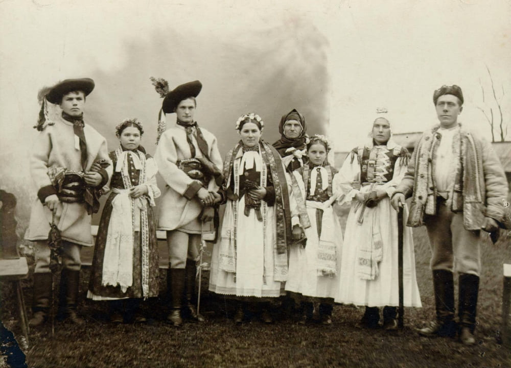 Украинцы, старое фото