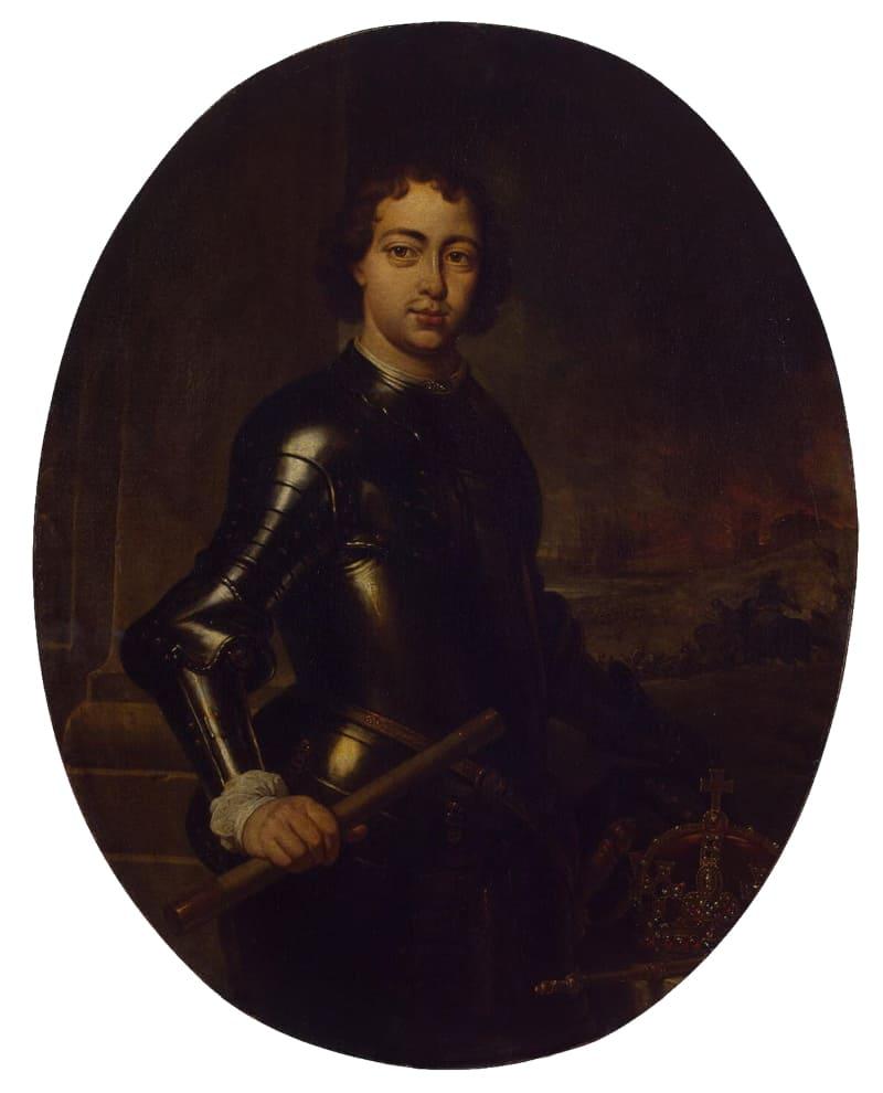 Ян Веникс «Портрет Петра I», хранится в Эрмитаже