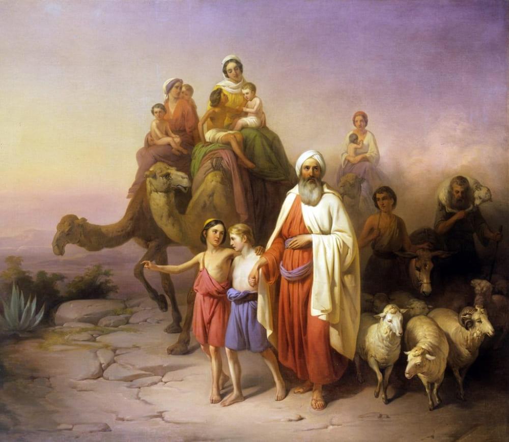 Йожеф Молнар «Переселение Авраама»