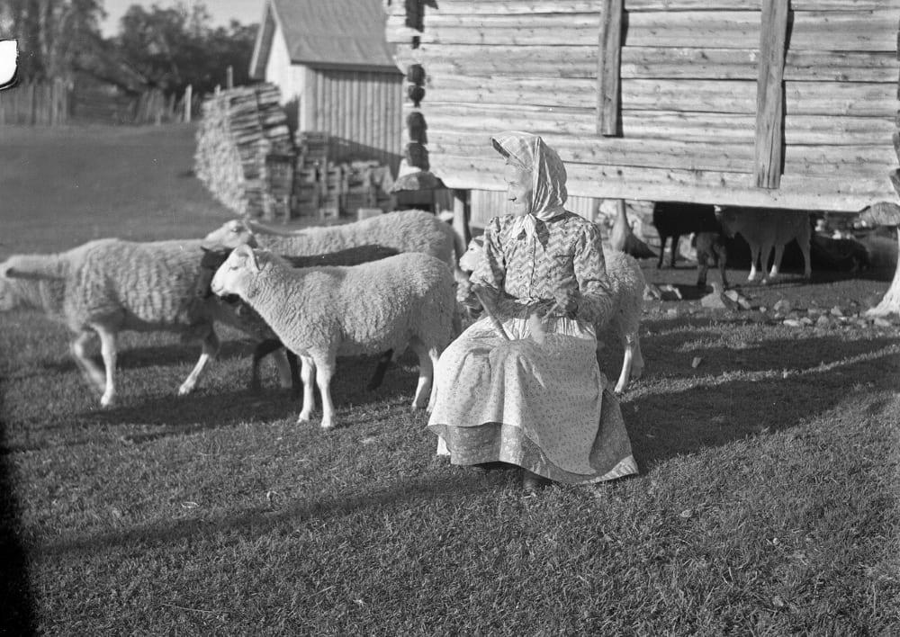 Женщина в Финляндии