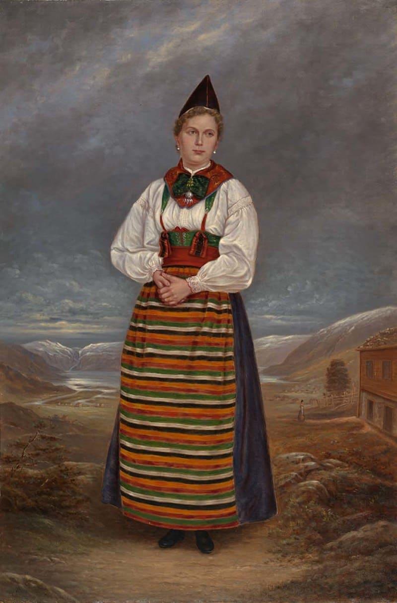 Antonio Zeno Shindler «Женщина из Швеции»