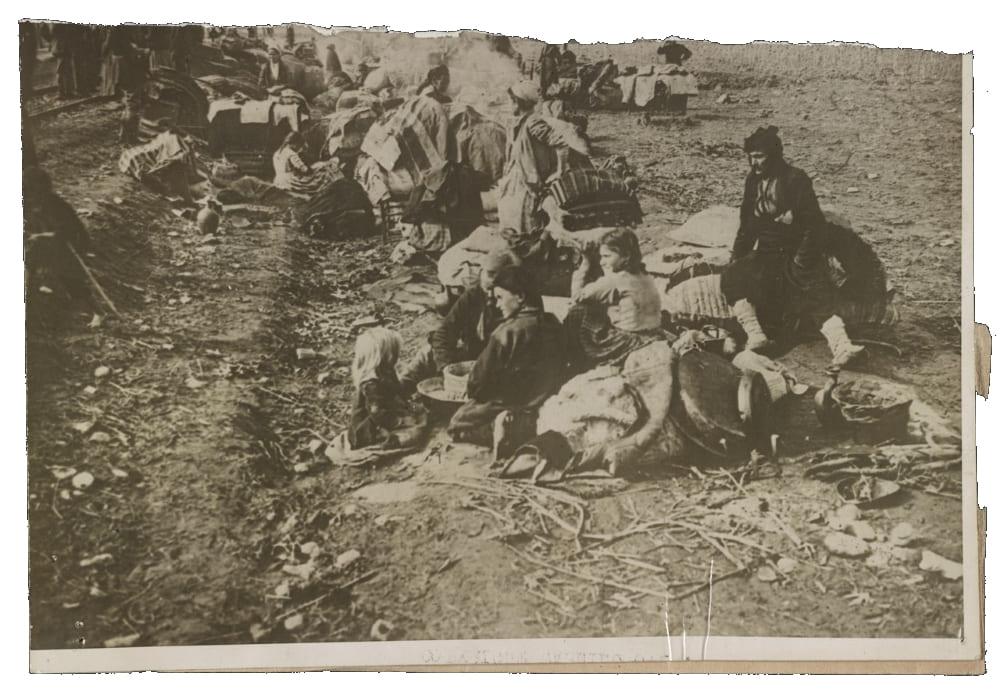 Ассирийские беженцы, изгнанные из своих домов