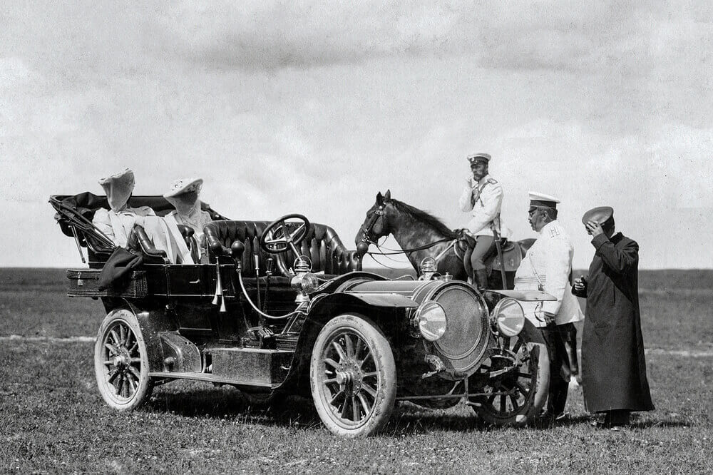 Делоне-Бельвиль 40HP — один из первых автомобилей Императорского гаража