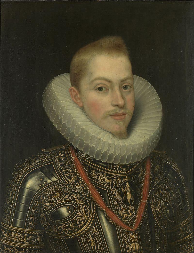 Франц Поурбюс Младший «Портрет короля Испании Филиппа III»