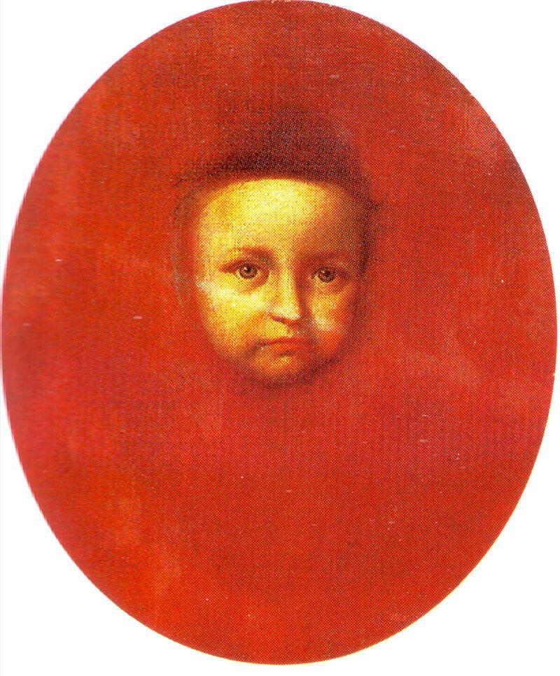 Иван Никитин «Портрет сына царевны Прасковьи»