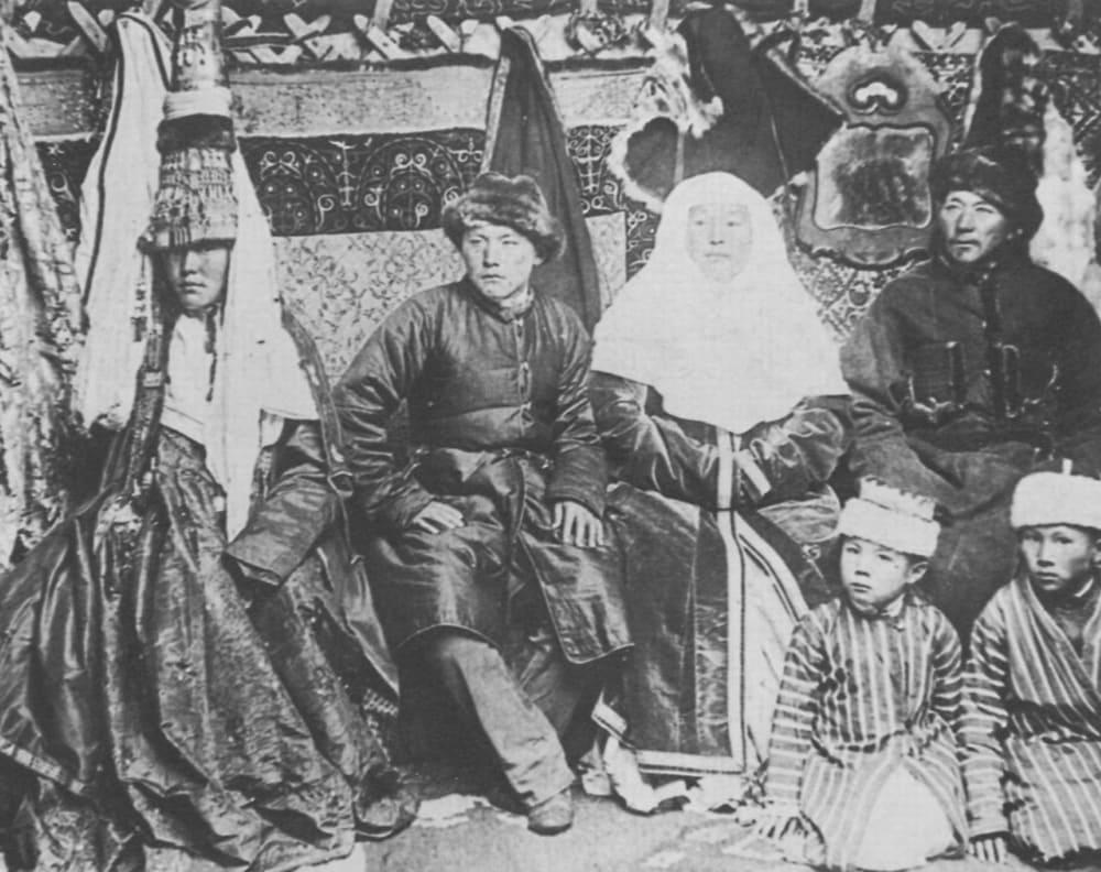 Киргизская семья, 1900 год