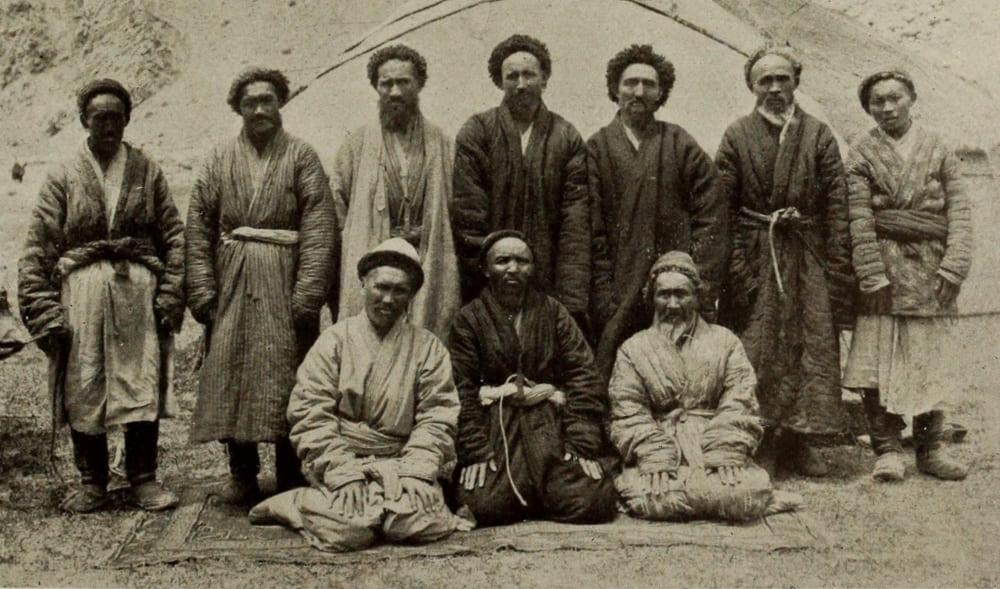 Киргизские мужчины