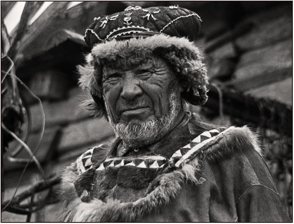 Коряк Гаврила Иванович Никифоров, Камчатка, Карагинский район, 1981 год / © Виктор Загумённов / photosight.ru