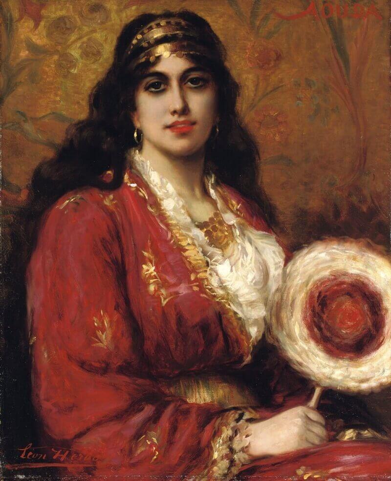 Леон Арбо «Восточная красавица» (не является портретом Хюмы-хатун)