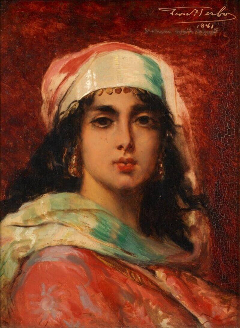 Леон Арбо «Женщина в восточном костюме»