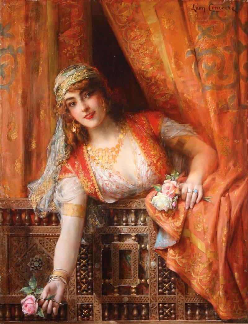 Леон-Франсуа Комерр «Восточная красавица» (не является портретом Гюльбахар)