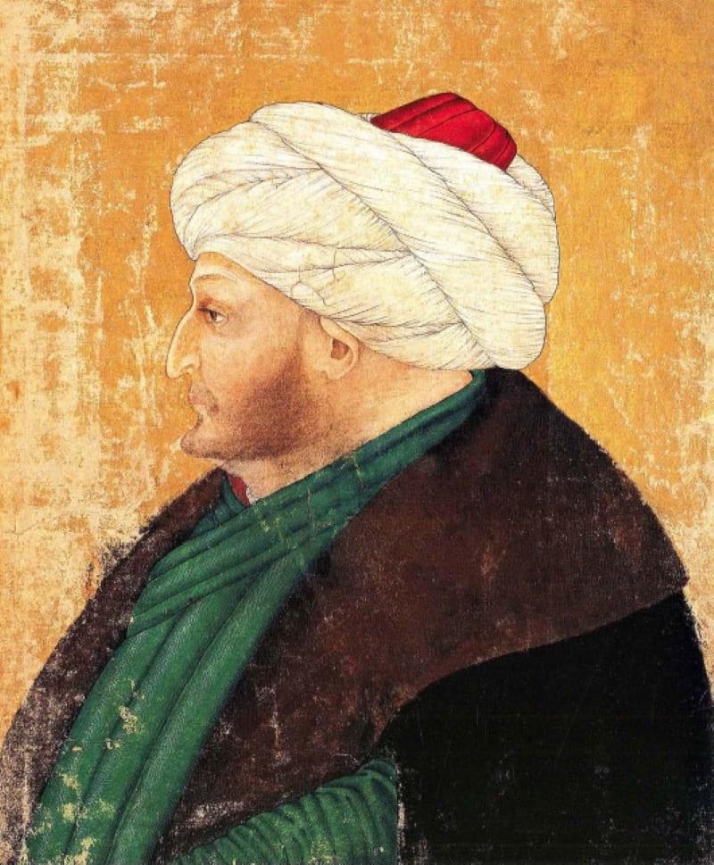 Малоизвестный рисунок Фатиха Мехмеда II