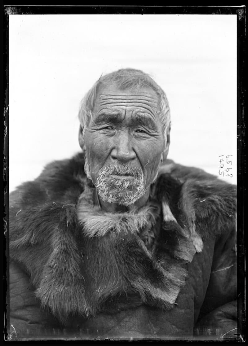 Мужчина коряк в конце XIX века