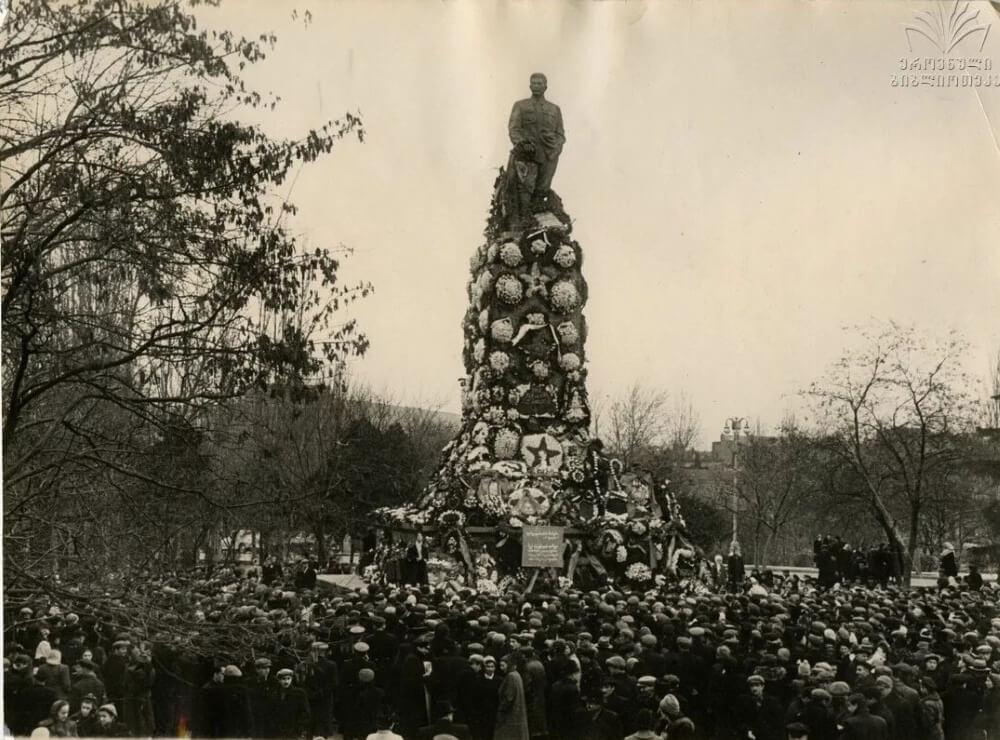 Памятник Сталину в Тбилиси