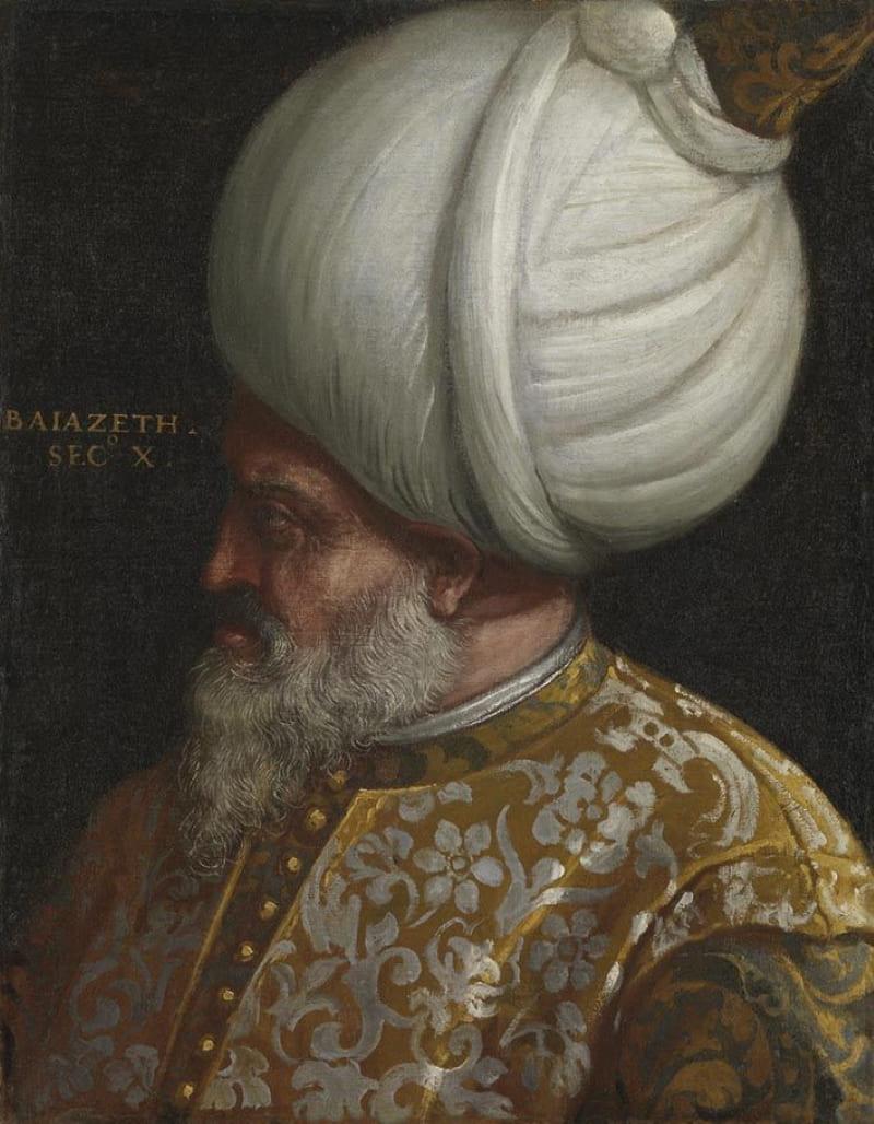 Паоло Веронезе «Портрет султана Баязида II»
