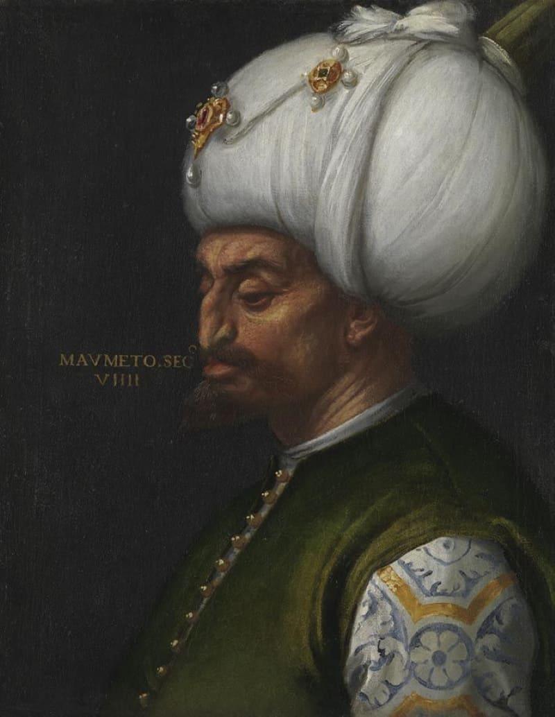 Паоло Веронезе «Портрет султана Мехмеда II»