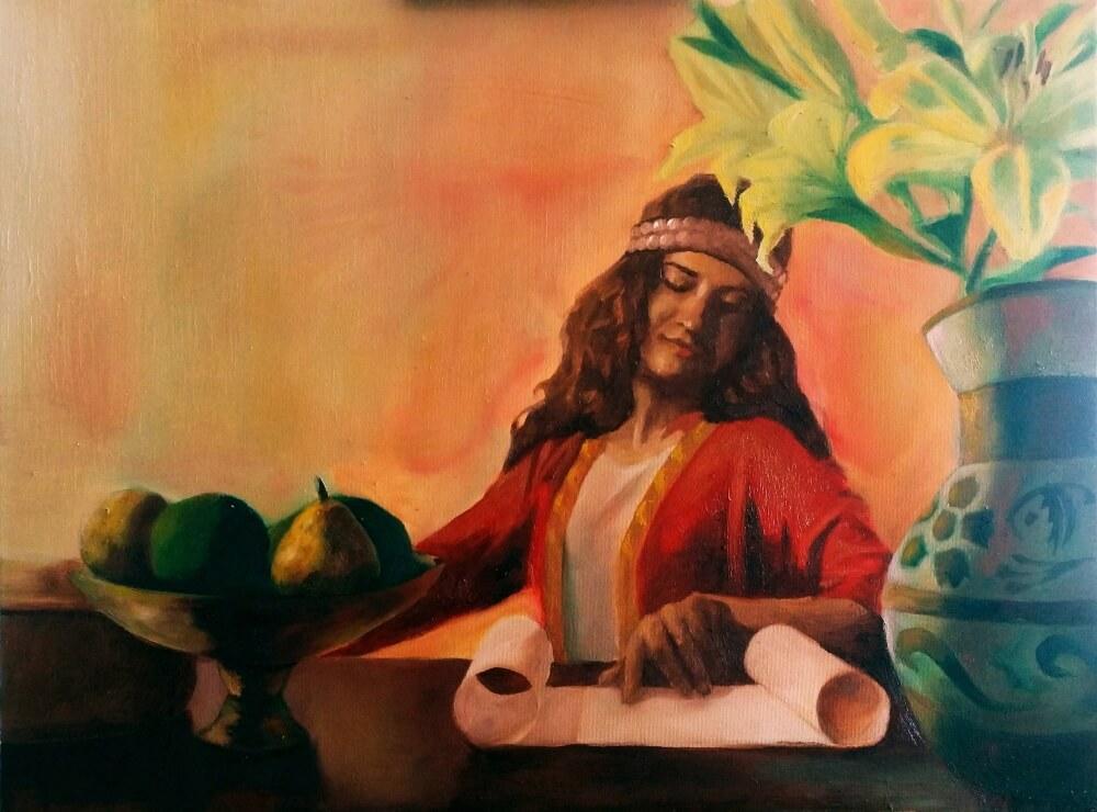 Персидская девушка (не является портретом Барсины) / © Razvan Petrea / razvan_p.artstation.com