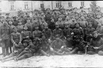 Польские войска в Хырове