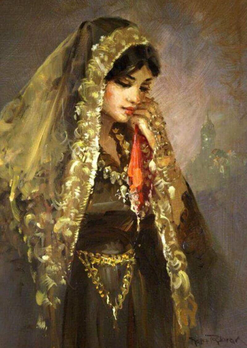 Ремзи Таскариан «Восточная красавица» (не является портретом Хюмы-хатун)