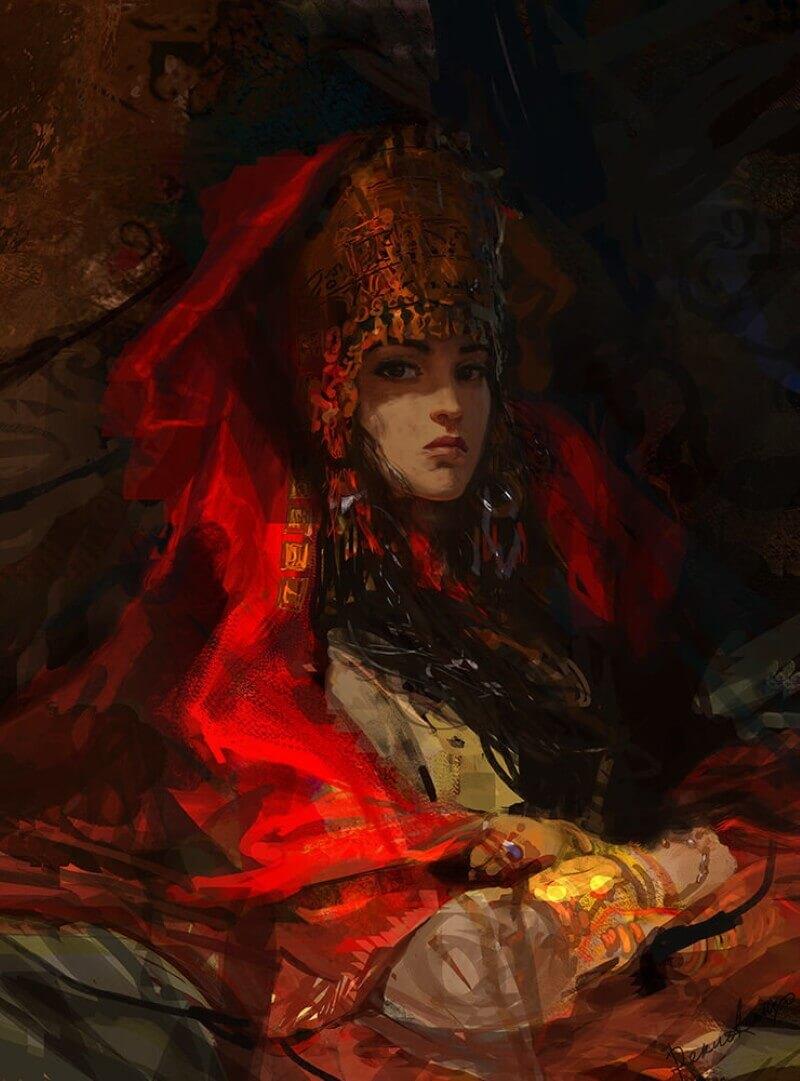 Скифская королева / © Alexander Deruchenko / deruch.artstation.com
