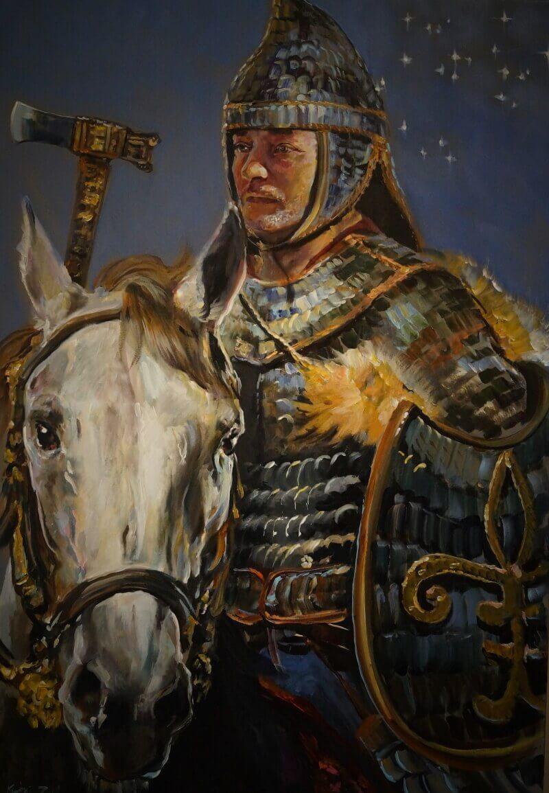 Скифский военачальник / © zalan kertai / kertaizalan.artstation.com