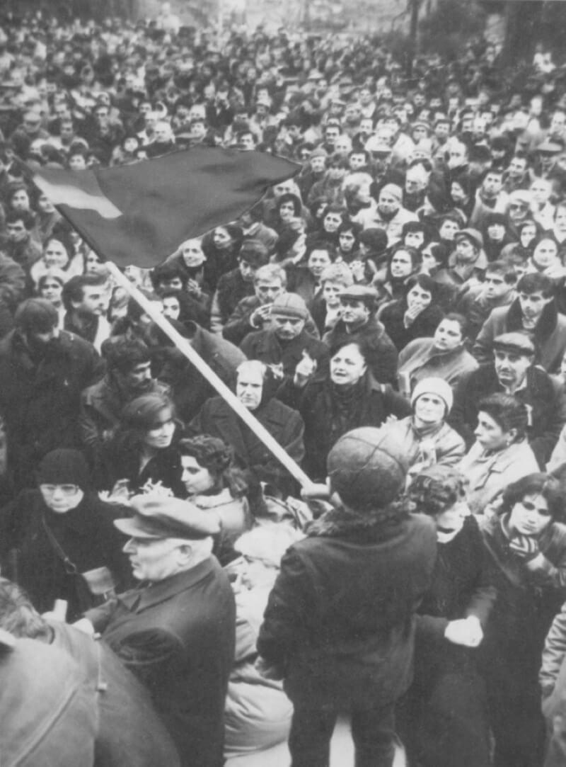 Тбилиси в марте 1956 года