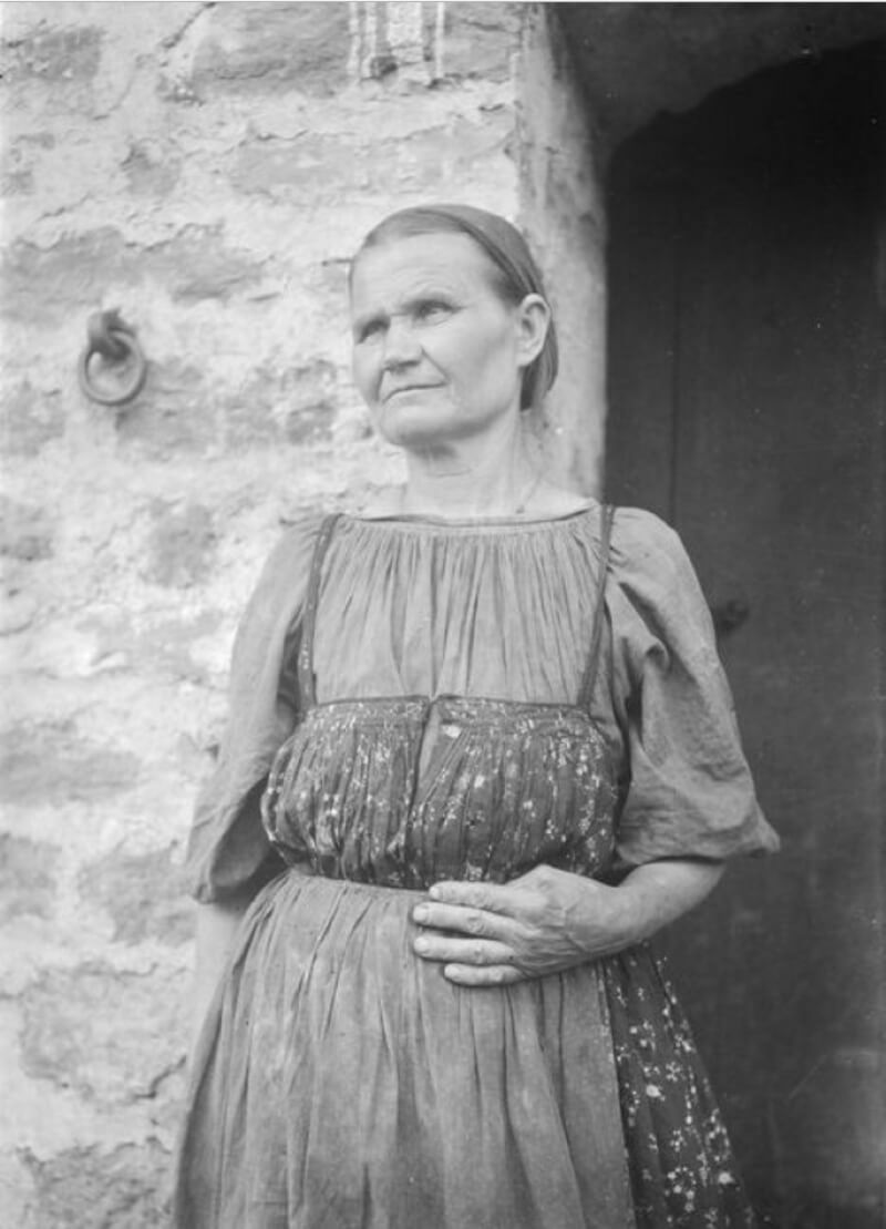 Водь авась Маркина Мартинтитер. Россия, Инкери, 1914 год / © Väisänen A. O. / commons.wikimedia.org