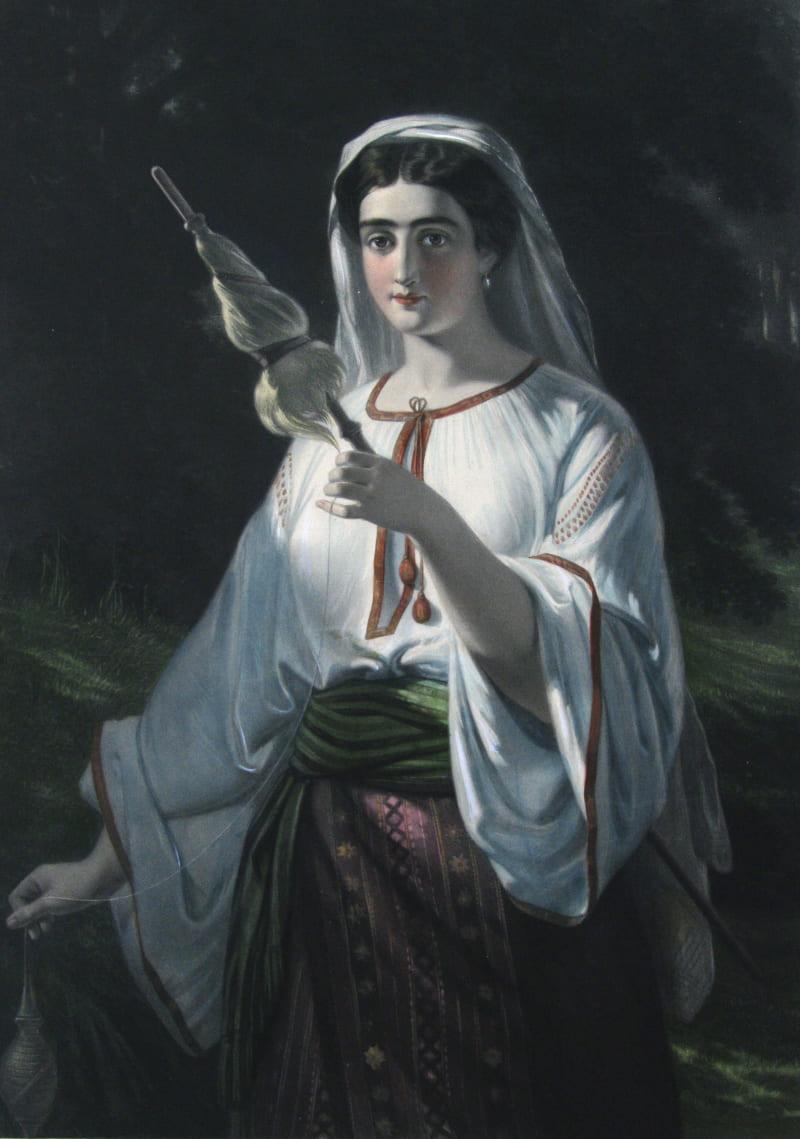 Аглая Розетти «Девушка из Молдавии»