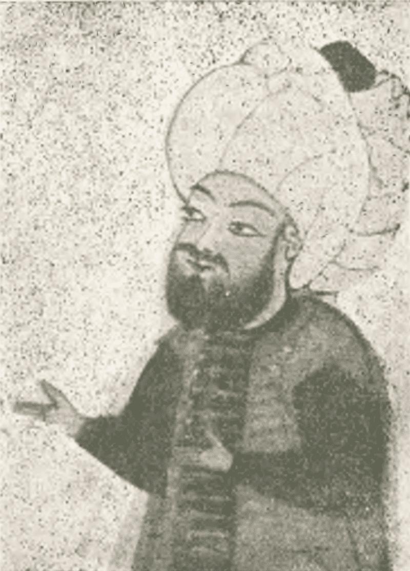 Ахмед Нахши «Портрет Махмуда-паши»