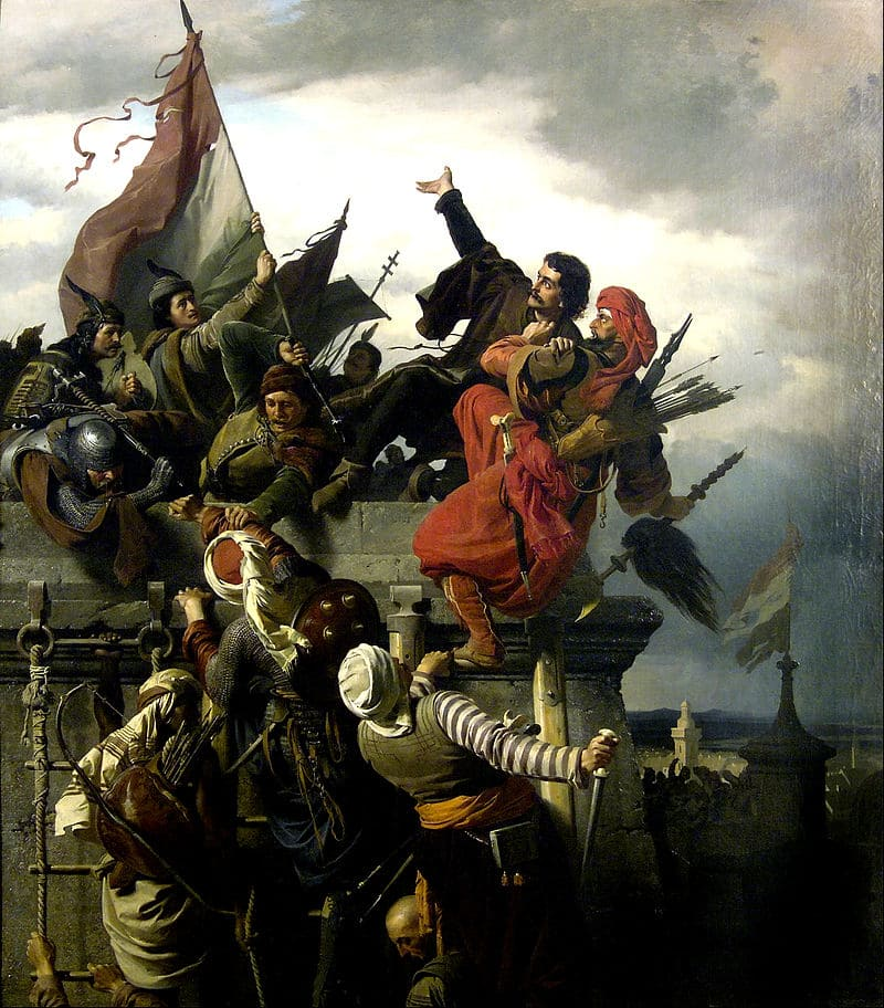 Александр фон Вагнер «Осада Белграда 1456 года»